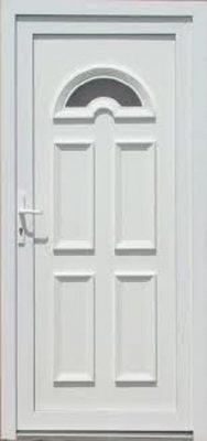 Temze 1 üveges műanyag bejárati ajtó