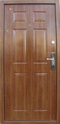 Aranytölgy Hi Sec biztonsági ajtó bérházba