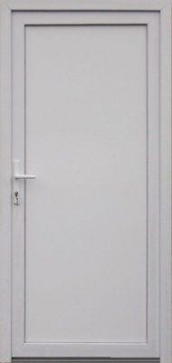 Emese tömör műanyag bejárati ajtó